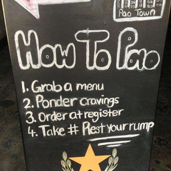 Das Foto wurde bei Pao Town von Chris H. am 12/26/2012 aufgenommen