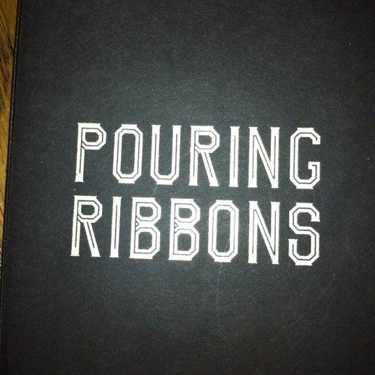 Снимок сделан в Pouring Ribbons пользователем Wendy P. 9/28/2012