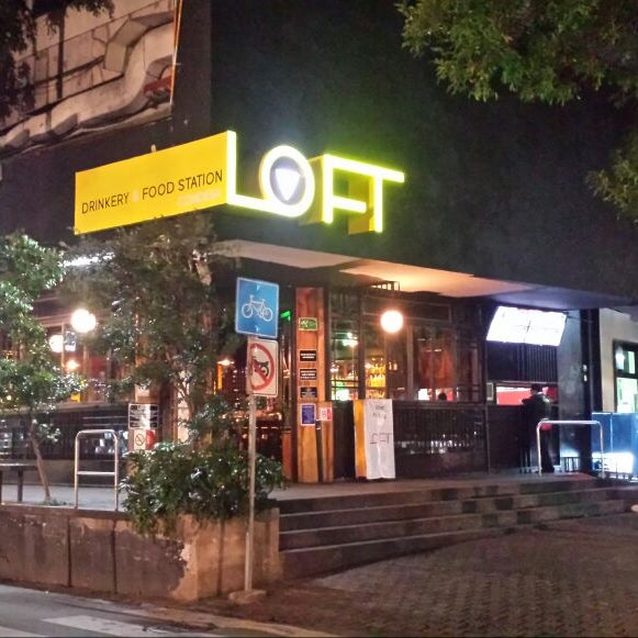 12/30/2016 tarihinde LOFT Drinkery & Food Stationziyaretçi tarafından LOFT Drinkery & Food Station'de çekilen fotoğraf