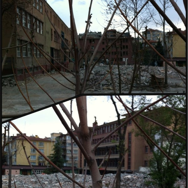 Ted Ankara Koleji Eski Ortaokul Bahcesi Cankaya Da Genel