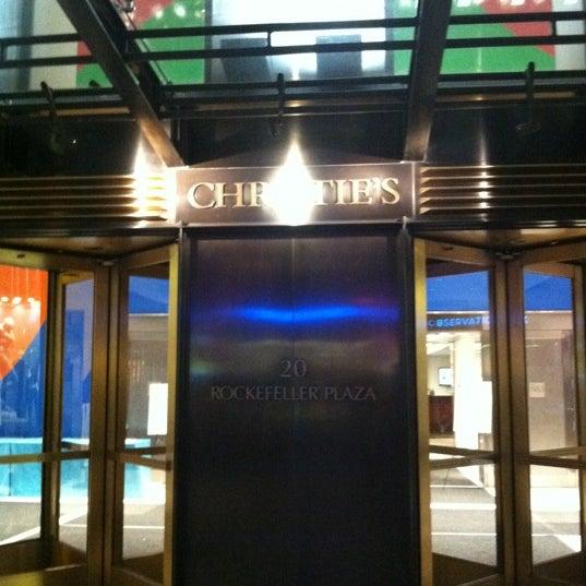 10/27/2012にDini R.がChristie'sで撮った写真