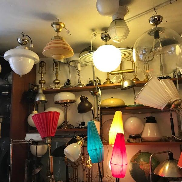 antik lampor stockholm