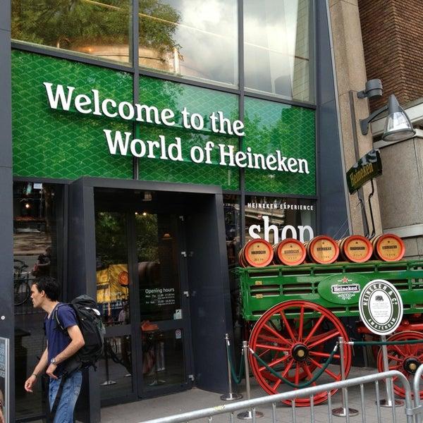 7/29/2013 tarihinde Kent E.ziyaretçi tarafından Heineken Experience'de çekilen fotoğraf
