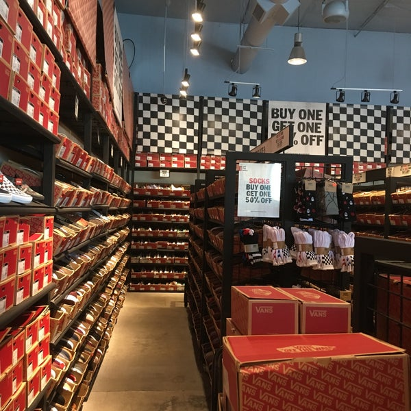 vans mujer outlet