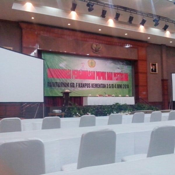 Photos At Auditorium Gedung F Kementerian Pertanian Pasar Minggu