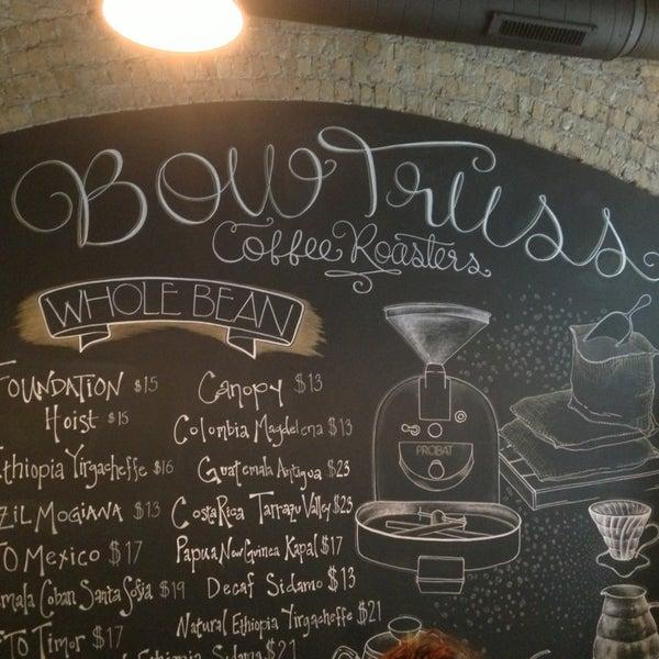 Photo prise au Bow Truss Coffee par Alberto le3/12/2013