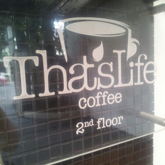 Photo prise au That's Life Coffee par Johannes R. le11/18/2012