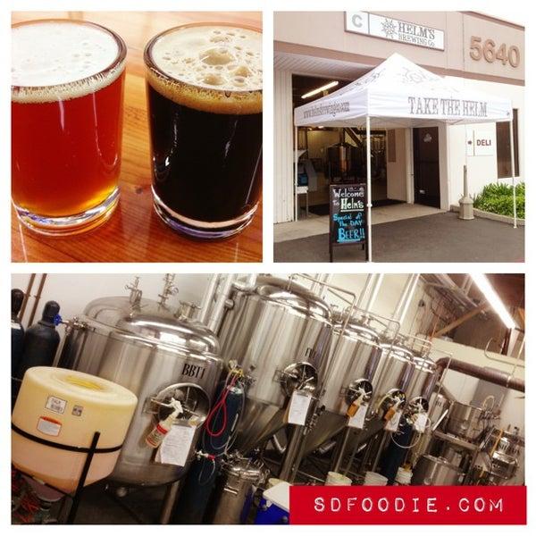 Foto diambil di Helm's Brewing Co. oleh Roger M. pada 4/15/2013