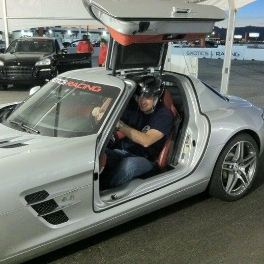 Снимок сделан в Exotics Racing пользователем Steve S. 11/3/2012