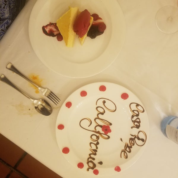 Had the absolute best cheesecake of my life!