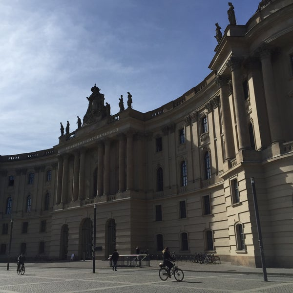 3/22/2015에 Alba G.님이 Humboldt-Universität zu Berlin에서 찍은 사진