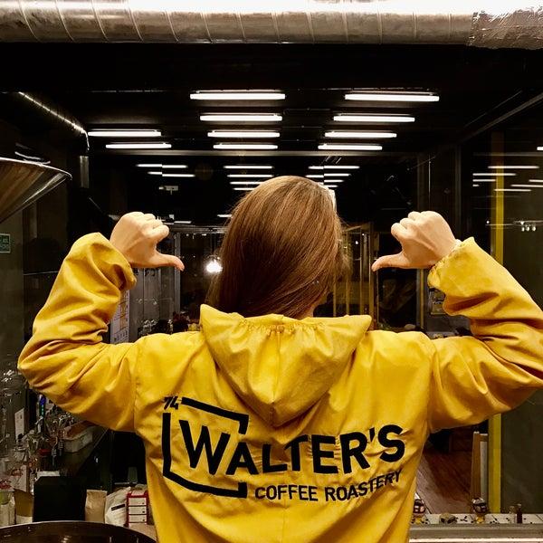 Снимок сделан в Walter's Coffee Roastery пользователем Özlem G. 10/30/2016