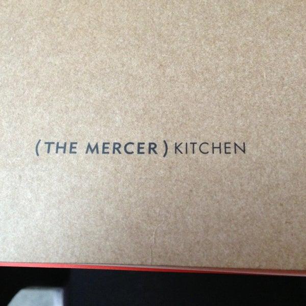 Foto tirada no(a) Mercer Kitchen por Liz L. em 2/7/2013