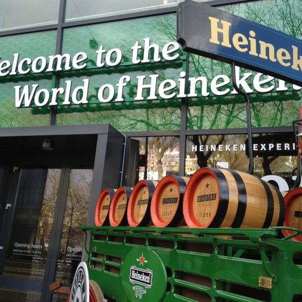 Das Foto wurde bei Heineken Experience von Nurettin am 2/8/2013 aufgenommen