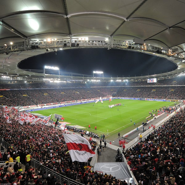 Mercedes Benz Arena Muttizettel