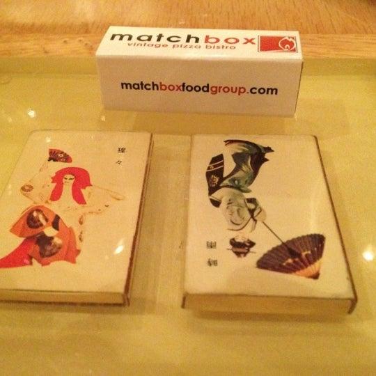 Das Foto wurde bei Matchbox Vintage Pizza Bistro von SemiToxic am 2/17/2013 aufgenommen