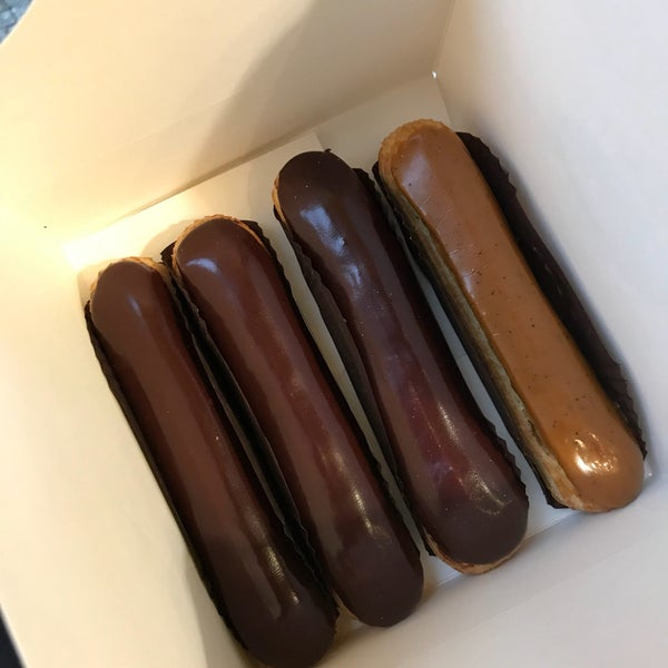 The filling of the eclairs is Ganache like and very rich! Kids didn't like it