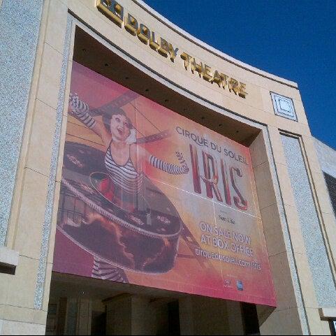 Foto diambil di Dolby Theatre oleh Andre F. pada 12/27/2012