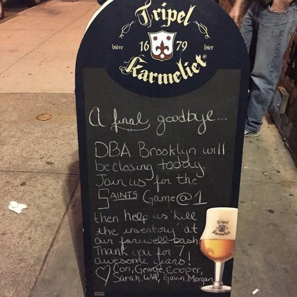 Foto diambil di d.b.a. Brooklyn oleh Stephanie H. pada 11/30/2014