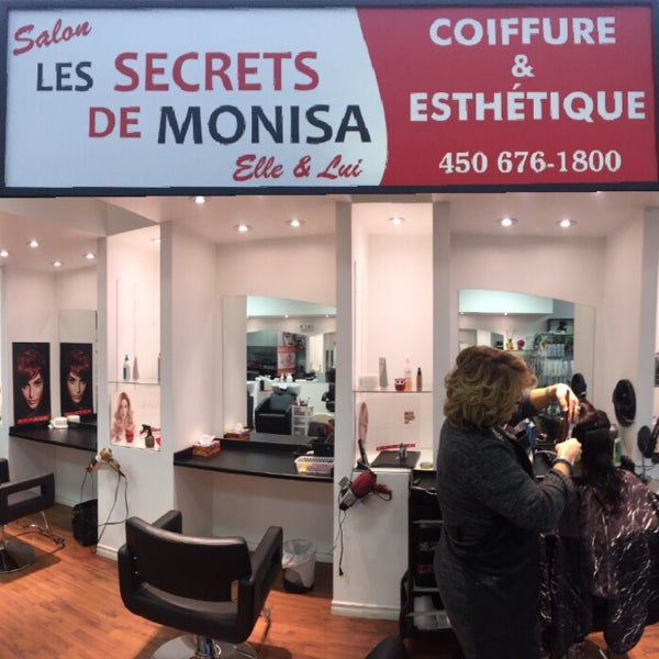 Photos at Salon les secrets de Monisa - Brossard, QC