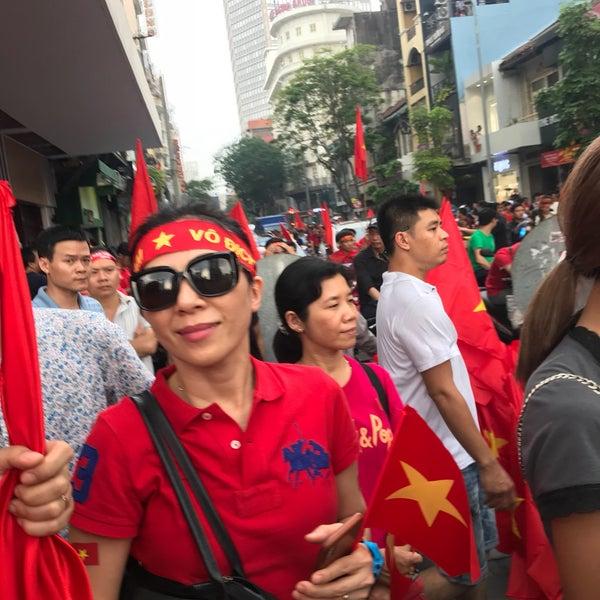 1/27/2018 tarihinde Dinh P.ziyaretçi tarafından The Reverie Saigon'de çekilen fotoğraf