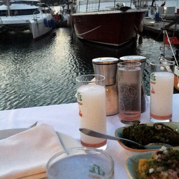 5/11/2018에 Gamze 🏝🏖🐬🐠🐳 T.님이 Fethiye Yengeç Restaurant에서 찍은 사진