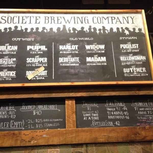 Photo prise au Societe Brewing Company par Tony O. le1/16/2014