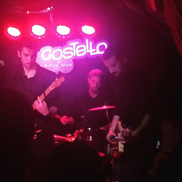 รูปภาพถ่ายที่ Costello Club โดย Diego H. เมื่อ 1/27/2018