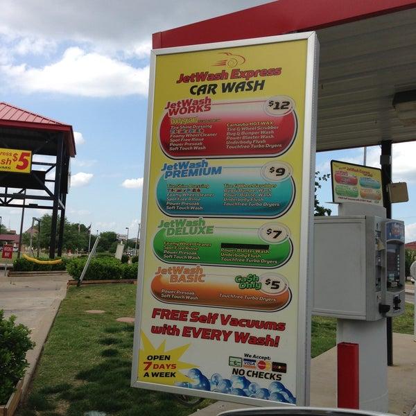 Photo Taken At Jetwash Express Car Wash By Tam D On 5 1