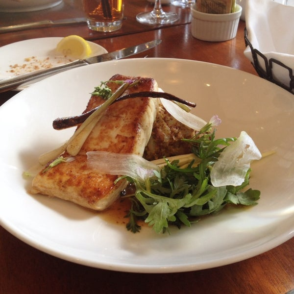 The Grilled Halibut