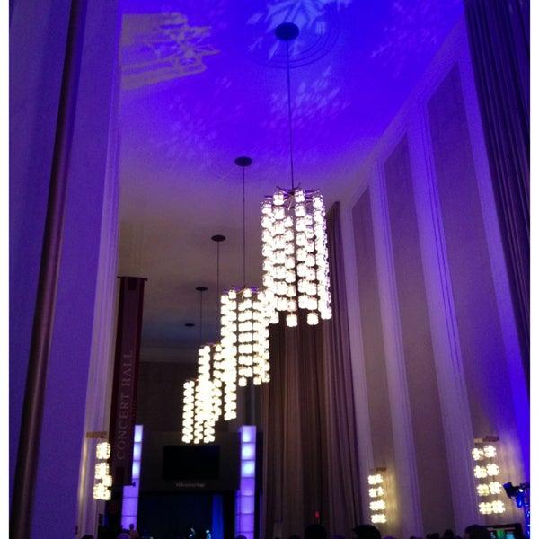 Снимок сделан в The John F. Kennedy Center for the Performing Arts пользователем MTF 12/22/2012