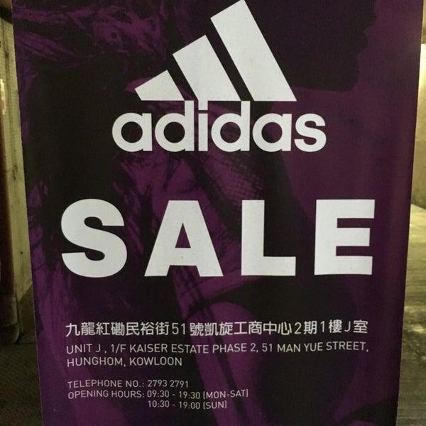 Adidas/Reebok Outlet - Hunghom, Kowloon