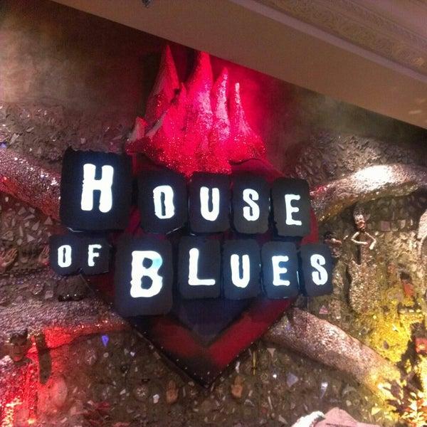 Снимок сделан в House of Blues пользователем Paul F. 12/26/2012