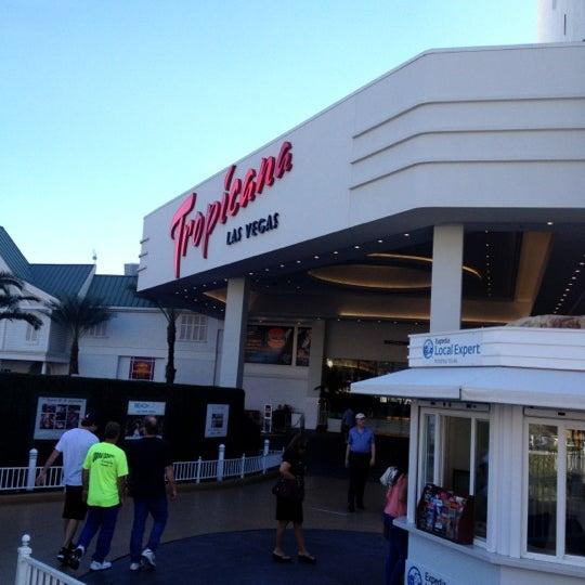 Снимок сделан в Tropicana Las Vegas пользователем Brian M. 11/3/2012