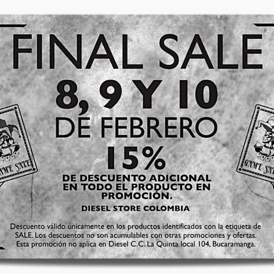 54b9f0a3a3d24 Photos at Diesel - C.C. Oviedo - Clothing Store in La Aguacatala