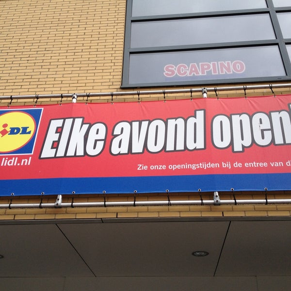 Lidl Supermarket In Zeewolde
