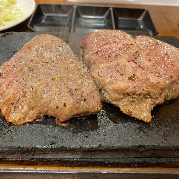 西新 やっぱり ステーキ
