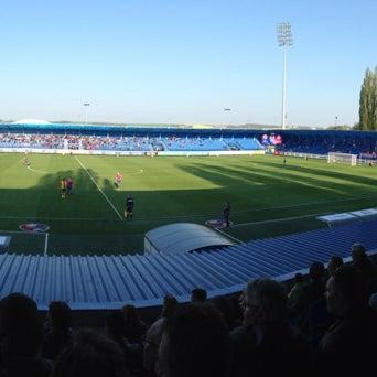 Foto tirada no(a) Štadión FK Senica por Warfi K. em 4/12/2014