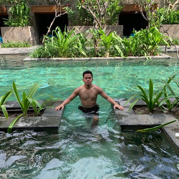 Secret Garden Pool Hotel Pool In Kuta