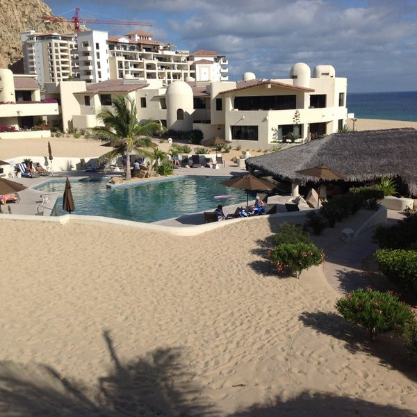 Terrasol Beach Resort Bar Restaurant Cabo San Lucas Baja California Sur