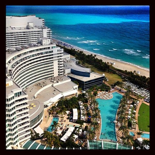 Photo prise au Fontainebleau Miami Beach par Fede W. le1/29/2013