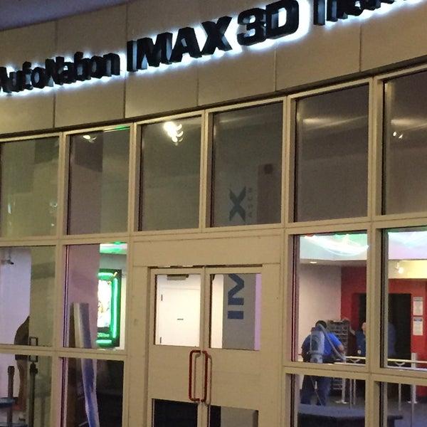 Снимок сделан в Autonation IMAX 3D Theater пользователем Wayne A. 11/9/2016