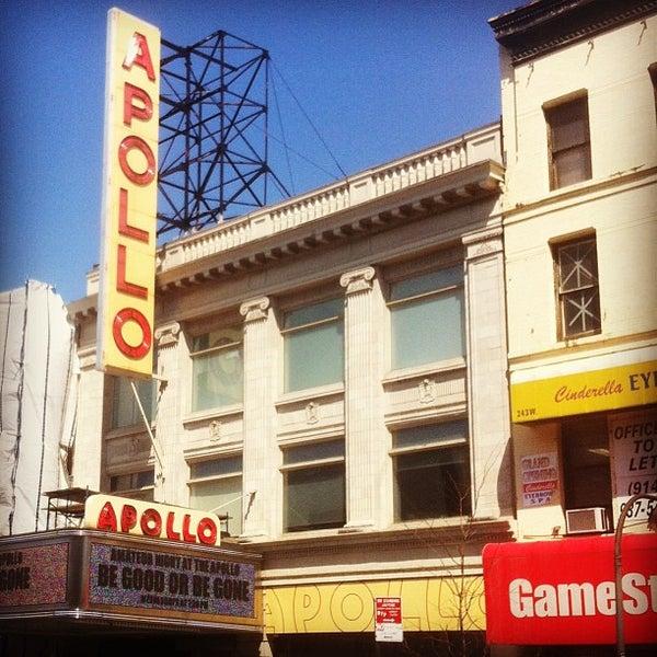 Das Foto wurde bei Apollo Theater von Claudio V. am 4/8/2013 aufgenommen