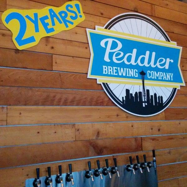 Снимок сделан в Peddler Brewing Company пользователем Andrew K. 3/14/2015