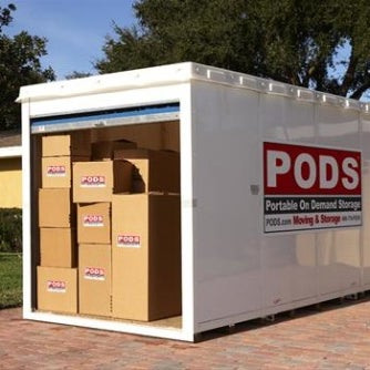 Pods Moving And Storage >> Photos At Pods Storage Facility In Laval