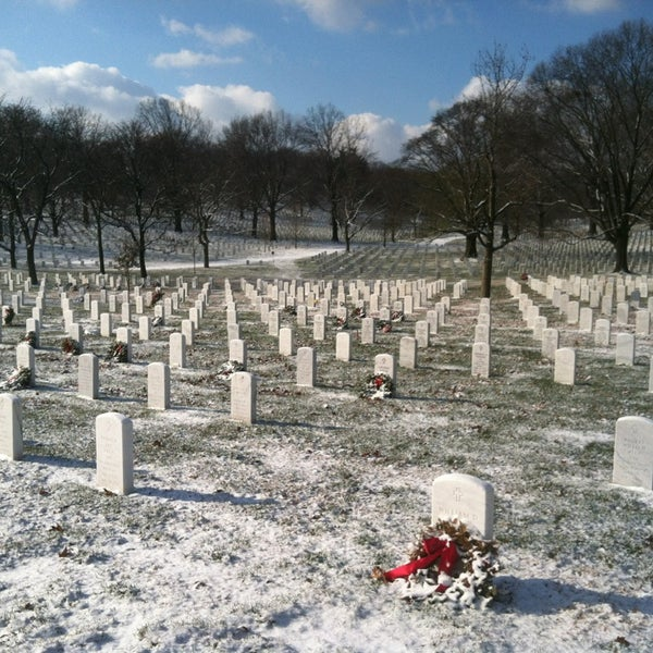Photo prise au Arlington National Cemetery par Andrew R. le1/24/2013