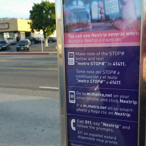 Photos at Metro Bus Stop 14981 - 94, 224, 234, 794 - 942