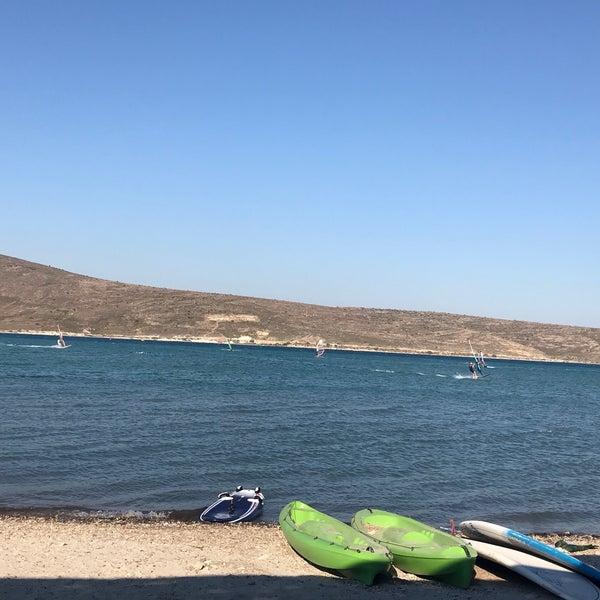 Das Foto wurde bei Alaçatı Surf Paradise Club von Meri am 7/15/2018 aufgenommen