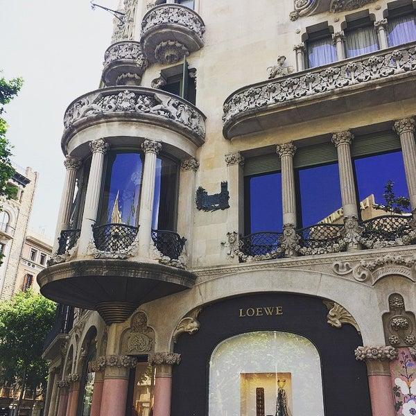 รูปภาพถ่ายที่ Casa Lleó i Morera โดย Anna K. เมื่อ 5/26/2015
