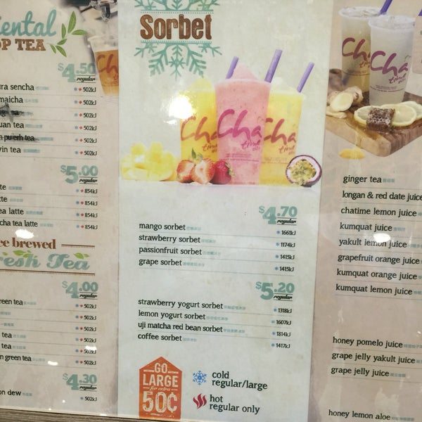 Photos at Chatime (日出茶太) - Indooroopilly, QLD